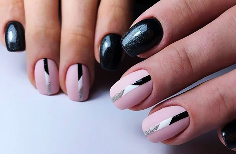 ongles carré